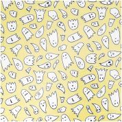 Rico PVC Vinyl Fabric  Yellow