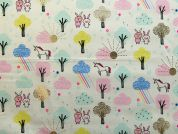 Rico Woven Cotton Fabric  Multicoloured