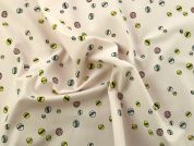 Rico Cotton Jersey Fabric  Pink
