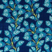 Rico Cotton Gauze Fabric  Blue