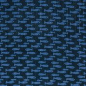 Rico Cotton Gauze Fabric  Navy Blue
