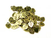 Darice Metal Handmade with Love Labels for Clothing & Accessories  Gold