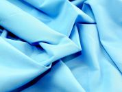 Plain Polyester Fabric  Turquoise Blue