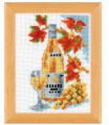 Vervaco Counted Cross Stitch Kit White Wine