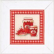 Vervaco Counted Cross Stitch Kit Red Jam