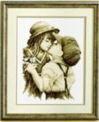 Vervaco Counted Cross Stitch Kit First Kiss