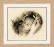 Vervaco Counted Cross Stitch Kit Sleeping Safely