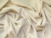 Lady McElroy Silk Noil Fabric  Cream