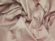 Wet Look Glossy Poly Woven Dress Fabric  Peach