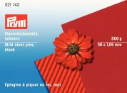 Prym 1.05 x 36mm Straight Mild Steel Pins 36mm  Black