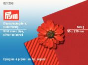 Prym 1.20 x 50mm Straight Mild Steel Pins 50mm  Silver