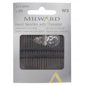 Milward Hand Sewing Needles & Threader