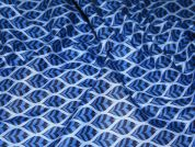 Camelot Fabrics Mint To Be Herringbone Ogee Quilting Fabric