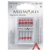 Milward Leather Sewing Machine Needles