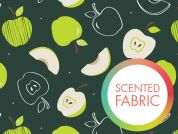 Camelot Fabrics Scented Quilting Fabric Apple