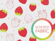 Camelot Fabrics Scented Quilting Fabric Strawberry