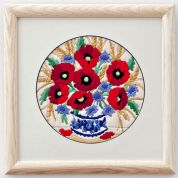 Twilleys of Stamford Poppies Long Stitch Kit