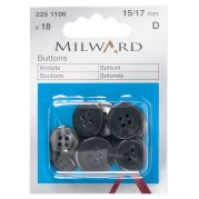 Milward Trouser Buttons  Grey