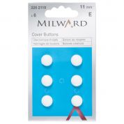 Milward Plastic Cover Buttons