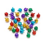 Darice Coloured Round Craft Bells  Assorted Colours