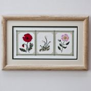 Twilleys of Stamford Cameo Flowers Cross Stitch Kit