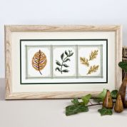 Twilleys of Stamford Cameo Leaves Cross Stitch Kit