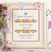 Twilleys of Stamford Diamond Jubilee Sampler Cross Stitch Kit