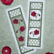 Twilleys of Stamford Poppy Dawn Bookmark Cross Stitch Kit