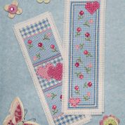 Twilleys of Stamford Heart Medley Bookmark Cross Stitch Kit