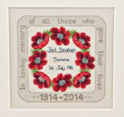 Twilleys of Stamford Remembrance Cross Stitch Kit