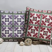 Twilleys of Stamford Mosaic Tile Cushion Long Stitch Kit