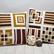 Twilleys of Stamford Abstract Panel Cushion Long Stitch Kit