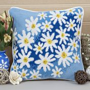 Twilleys of Stamford Daisy Breeze Cushion Tapestry Kit