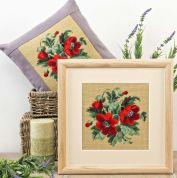 Twilleys of Stamford Poppy Panel Tapestry Kit