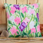 Twilleys of Stamford Sweet Peas Cushion Tapestry Kit