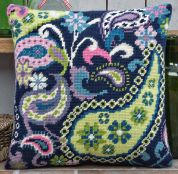 Twilleys of Stamford Paisley Extravaganza Cushion Tapestry Kit