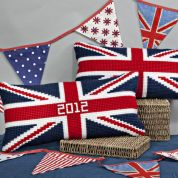 Twilleys of Stamford Union Flag Large Count Cushion Cross Stitch Kit