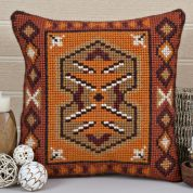 Twilleys of Stamford Inca Large Count Cushion Cross Stitch Kit