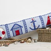 Twilleys of Stamford Nautical Excluder Large Count Cushion Cross Stitch Kit