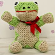 Twilleys of Stamford Finlay Frog Crochet Kit
