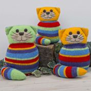 Twilleys of Stamford Cat Family Knitting Kit