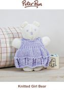Peter Pan Knitting Kit Dress Bear