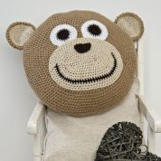 Twilleys of Stamford Monkey Cushion Crochet Kit