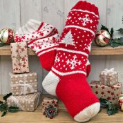 Twilleys of Stamford Christmas Stockings Knitting Kit