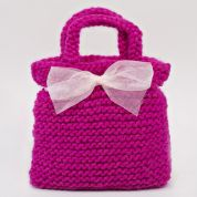Twilleys of Stamford Pink Party Bag Knitting Kit