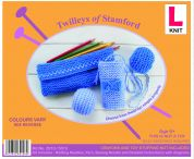 Twilleys of Stamford Learn To Knit Kit Pencil Case & Soft Balls