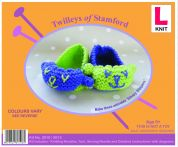Twilleys of Stamford Learn To Knit Kit Sleepy Slippers
