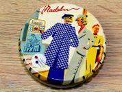 Prym Dressmaking Pins with Heads in a Vintage Style Tin - Ladies