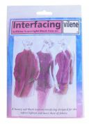 Vilene Standard Medium Sew In Interfacing Interlining  White
