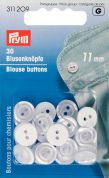 Prym Imitation Mother of Pearl 2 Hole Blouse Buttons  Ivory